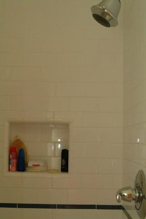 Angelina Guest House: Roomy shower