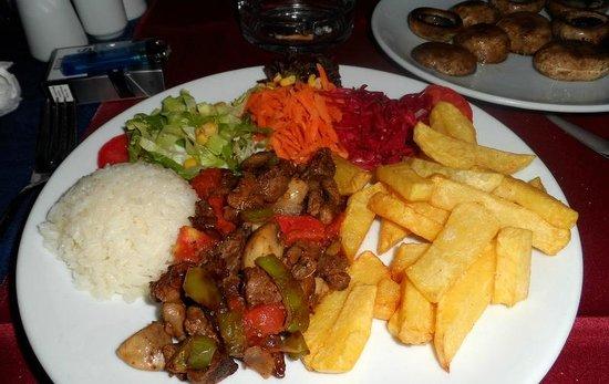 Philips Cafe ve Bar : One of my meals Mmmmmmmmmmm!