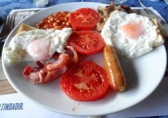 Philips Cafe ve Bar: Full English Breakfast + more toast