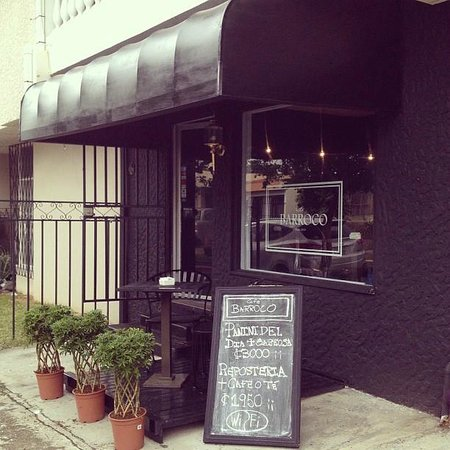 Cafe Barroco: Fachada