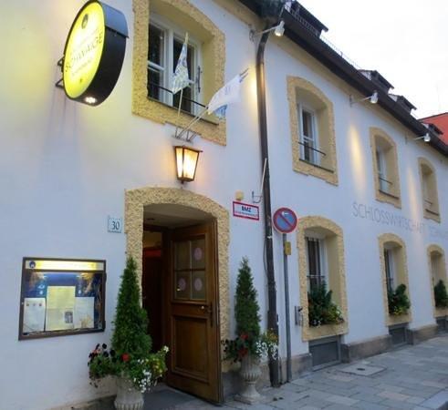 Schlosswirtschaft Schwaige: Outside the restaurant