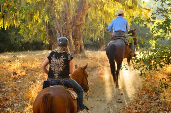 Alisal Guest Ranch & Resort: With over 10,000 acres, there are lots of opportunities for horseback riding at all levels of ab