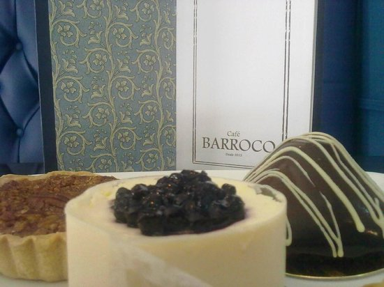 Cafe Barroco: Pecan y mouse de cheescake