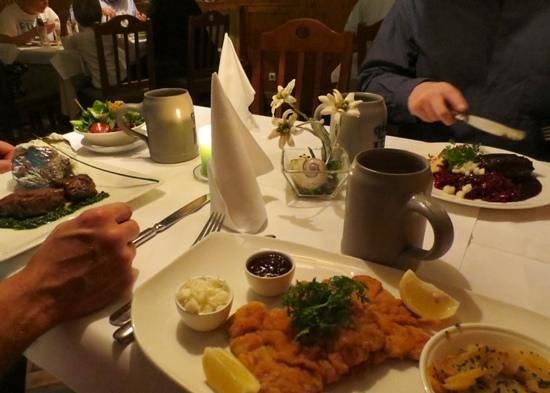Schlosswirtschaft Schwaige: Our table of Bavarian goodness