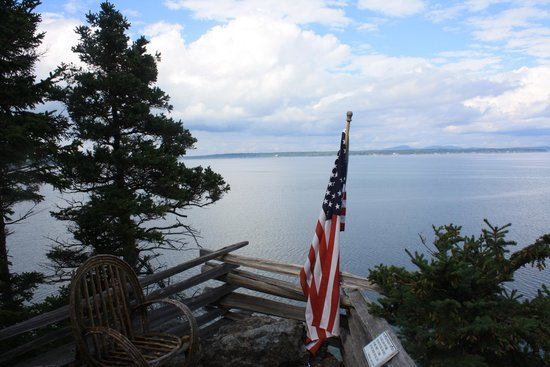 Inn at Bay Ledge: View from the point