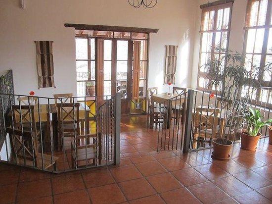 Costa Serrana: Breakfast area