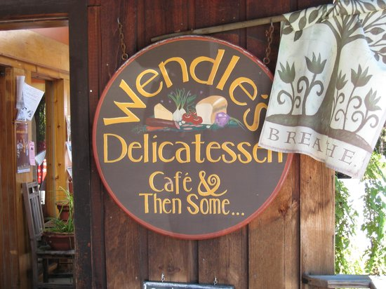 Wendle's Delicatessen & Cafe : Wendle's Sign