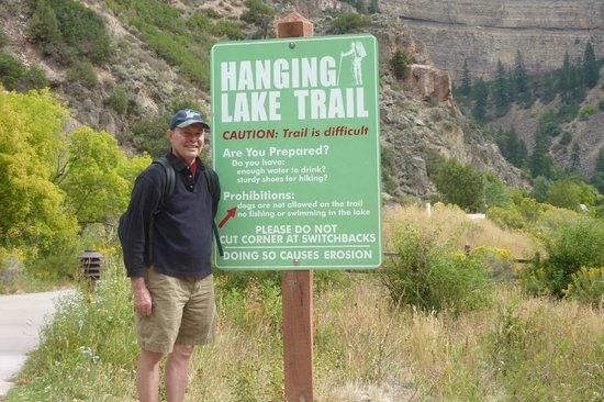 Hanging Lake : Trailhead
