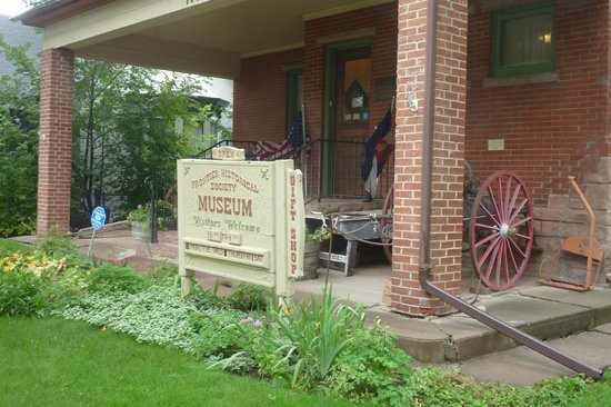 Frontier Historical Museum: Entrance