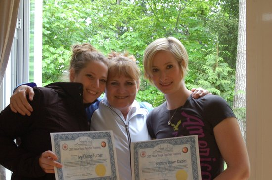 Heat to Heal : Some of our YTT 200 hour Grads