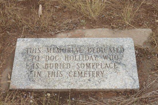 Linwood Cemetery: Doc's grave?