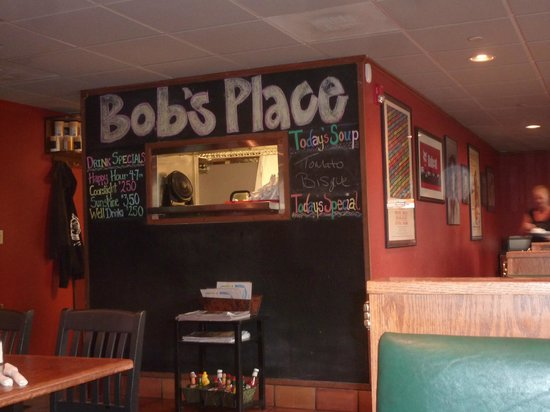 Bob's Place: Bob's Specials