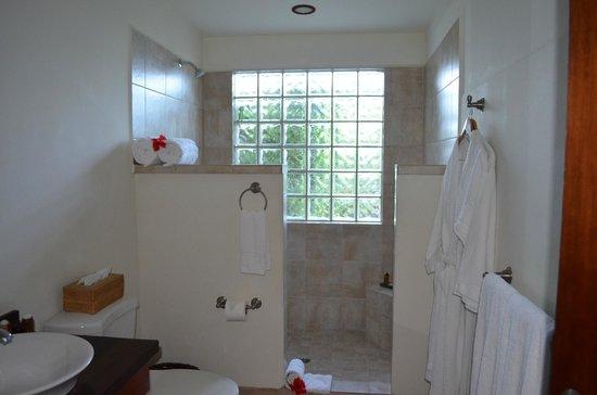 Ka'ana Resort: casita bath at check-in