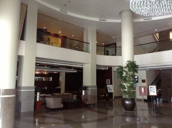 Grand I Hotel: hotel lobby