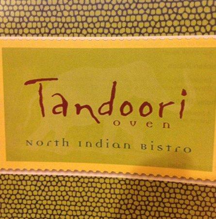 Tandoori Oven: menu