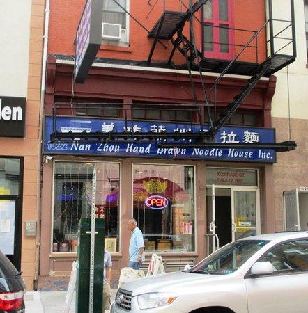 Nan Zhou Hand Drawn Noodle House: Entrance