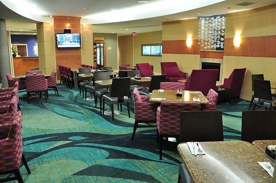 SpringHill Suites Dallas DFW Airport East/Las Colinas Irving: SpringHill Suites-Las Colinas: breakfast area