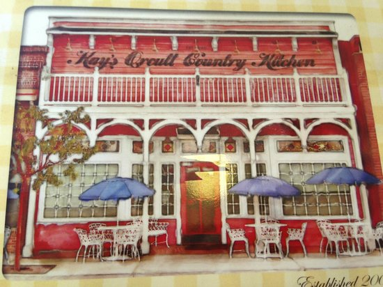 Kay's Orcutt Country Kitchen: Menu Cover