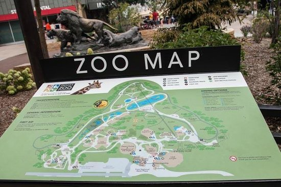 Omaha Zoo Map Zoo map   Picture of Henry Doorly Zoo, Omaha   TripAdvisor