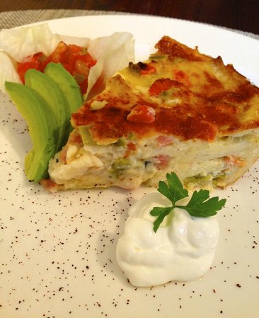 Inn at Occidental: Southwestern Frittata
