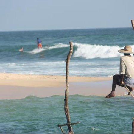 Plantation Surf Inn: fisherman in my place