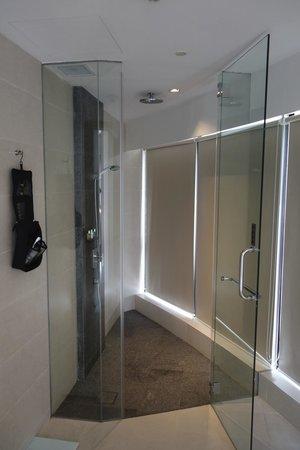 Wangz Hotel: Bathroom (shower)