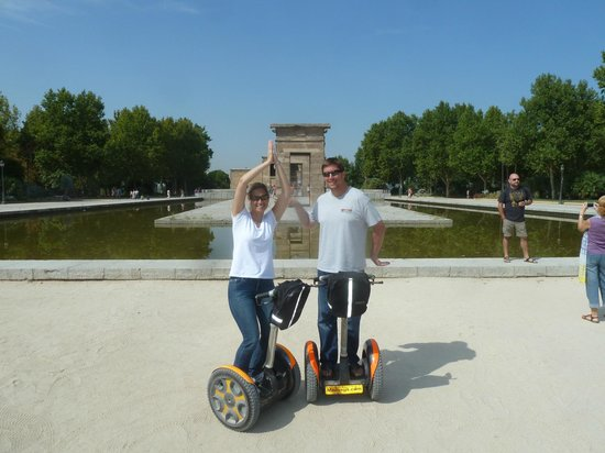 Madsegs Madrid Segway Tours: Too much fun!