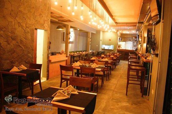 Root & Branch Bali, Bistro & Bar: our venue at Kayu Aya Square, Seminyak Bali