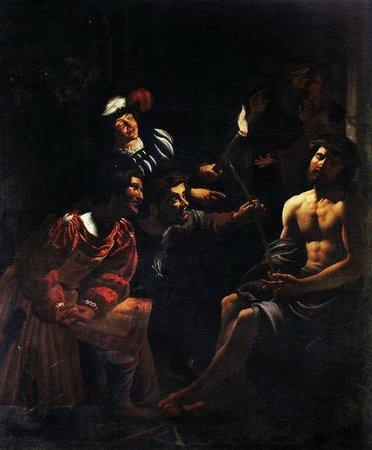 Museum and Crypt of Capuchins : Gherardo delle Notti, il Cristo deriso
