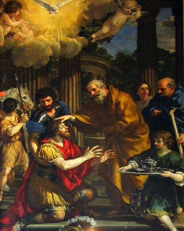 Museum and Crypt of Capuchins: Pietro da Cortona, Anania ridona la vista