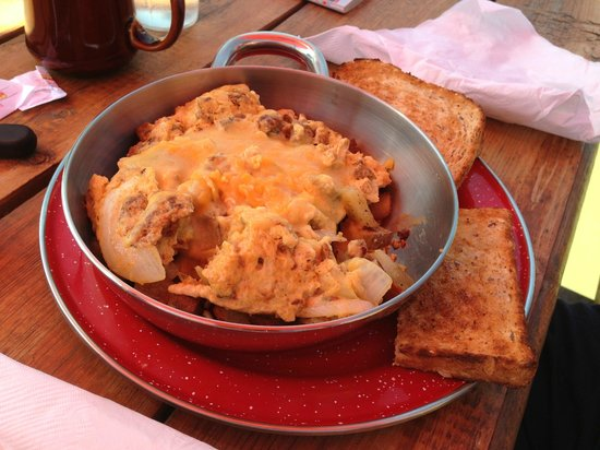 The Big Bend Cafe: Chorizo bowl