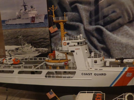 Virginia Beach Surf Rescue Museum Model Of Coast Guard Cutter