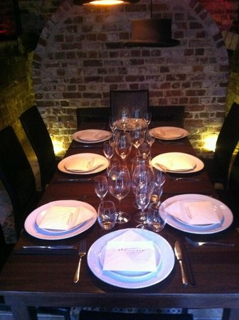 Harvest : The Private Dining Room