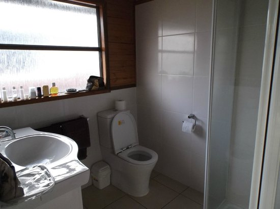 Airlie Beach Apartments: Studio bathroom