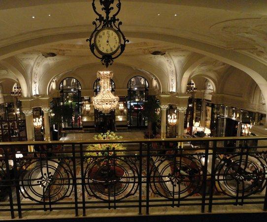 Hotel De Paris Monaco Midnight Lobby
