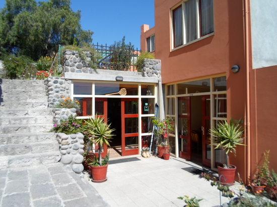 Posada el Castillo: keuken/eetzaal