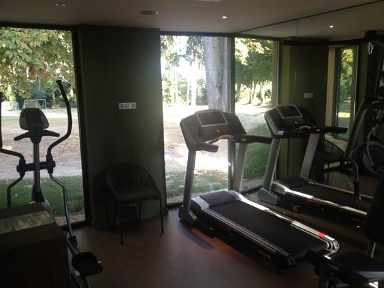salle de fitness picture of parc hotel chateau gontier tripadvisor. Black Bedroom Furniture Sets. Home Design Ideas