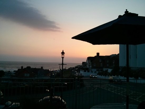 The Tides Inn: panorama dalla terrazza