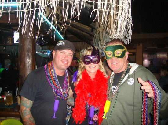 Cabo Blue: Mardi Gras Party!!