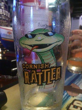 The Ship Inn: Rattler on tap!