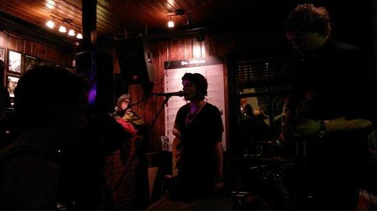 Dillon Whiskey Bar: The band playing at Dillon