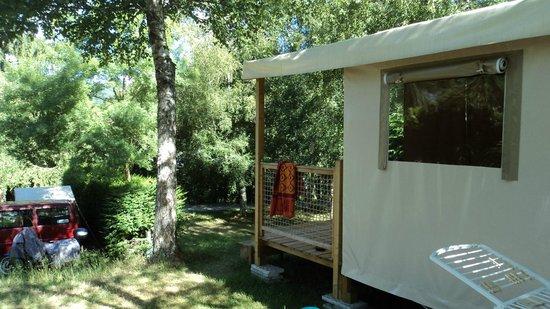Camping Rieumontagne : Les loges