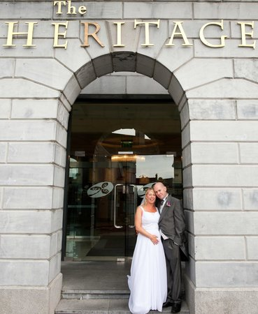 Midlands Park Hotel & Conference Centre (Formerly the Portlaoise Heritage Hotel) : our wedding