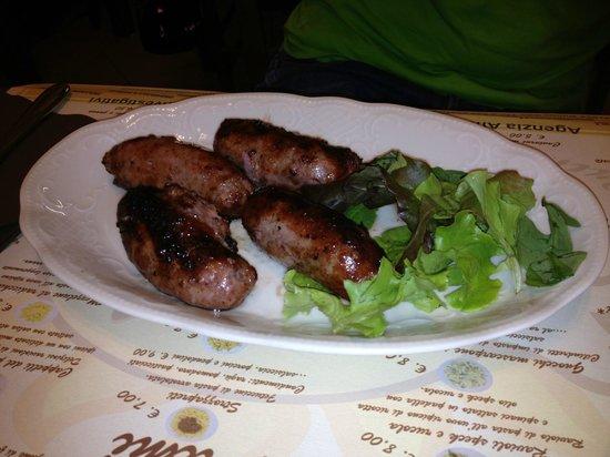 Bar Trattoria Sole : Salsicce arrosto