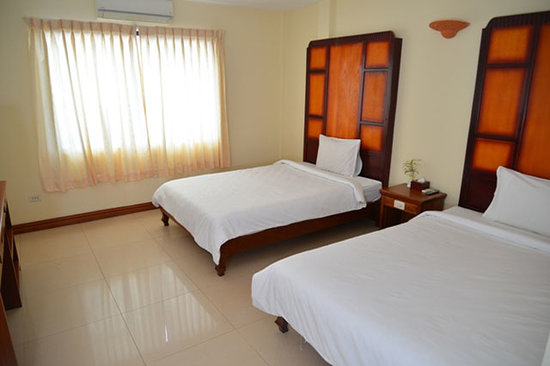 Champey Villa: A view of our rooms!