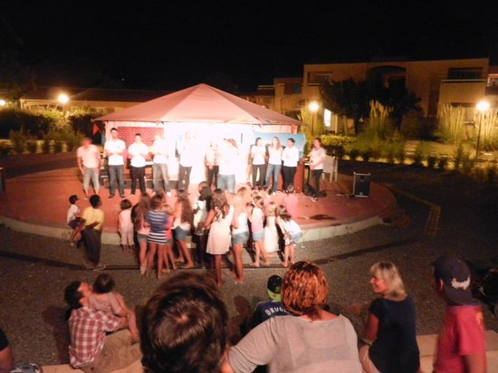 VVF Villages/VTF Sainte-Maxime : Place for spectacle