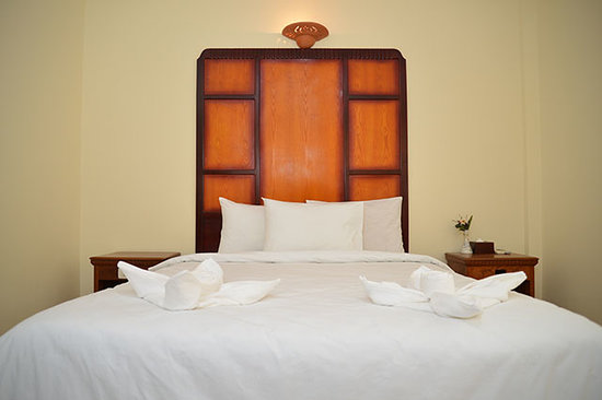 Champey Villa: A view of our double superior room!