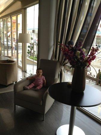 Hotel Olympos: Lobby