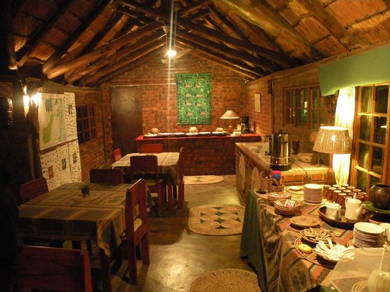 Malala Lodge: ristorante