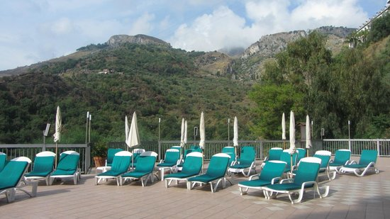 Hotel Antares: View from Antares Pool
